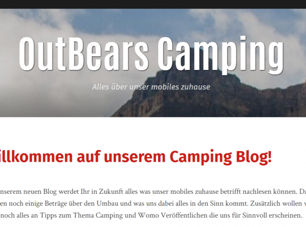 Outbears Camping Blog