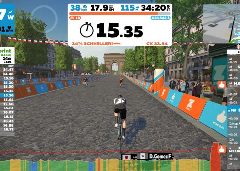 Zwift Paris